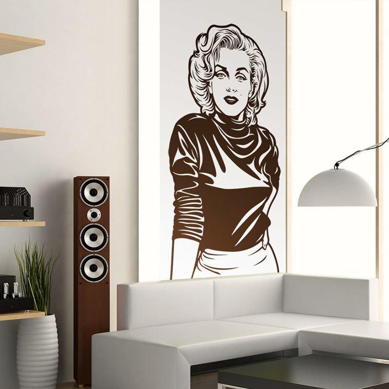Wandtattoos: Marilyn Monroe