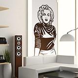 Wandtattoos: Marilyn Monroe 2