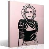 Wandtattoos: Marilyn Monroe 3