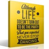 Wandtattoos: Never stop dancing 2