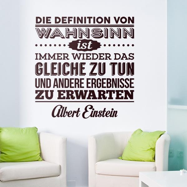 Einstein zitate wahnsinn