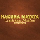 Wandtattoos: Hakuna Matata in Deutsch 3