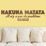 Wandtattoos: Hakuna Matata in Französisch 2