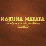 Wandtattoos: Hakuna Matata in Französisch 3