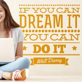 Wandtattoos: If you can dream it you can do it 1