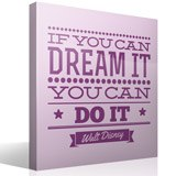Wandtattoos: If you can dream it you can do it 3