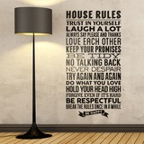 Wandtattoos: House Rules 0