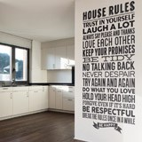Wandtattoos: House Rules 2