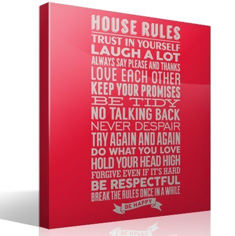 Wandtattoos: House Rules