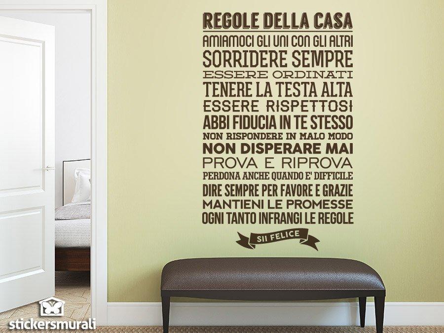 Wandtattoos: Regolle della Casa
