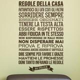 Wandtattoos: Regolle della Casa 2