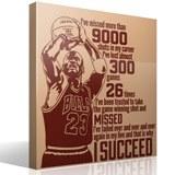 Wandtattoos: The success of Michael Jordan 3