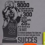 Wandtattoos: Le succès de Michael Jordan 2