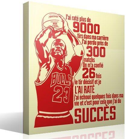 Wandtattoos: Le succès de Michael Jordan