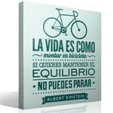 Wandtattoos: La vida es como montar en bicicleta... 3
