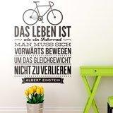Wandtattoos: Das leben ist wie ein fahrrad... 2