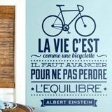 Wandtattoos: La vie c est comme une bicyclette 2