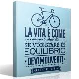 Wandtattoos: La vita è come andare in bicicleta 3