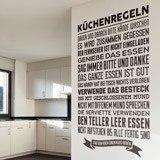 Wandtattoos: Küchenregeln 2
