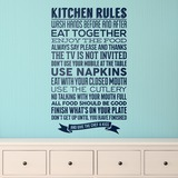 Wandtattoos: Kitchen Rules 0