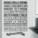 Wandtattoos: Regole de la Cucina 2