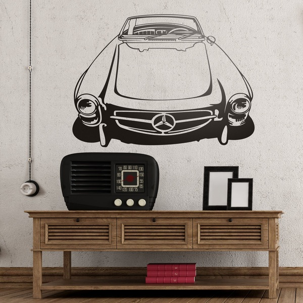 Wandtattoos: Mercedes-Benz 300 SL