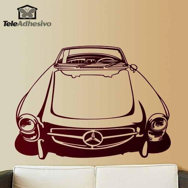 Wandtattoos: Classic car