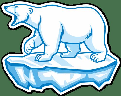 Aufkleber: Polarbär
