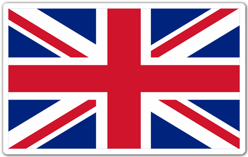 Aufkleber: Great Britain 0