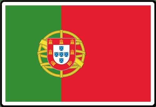 Aufkleber: Portugal