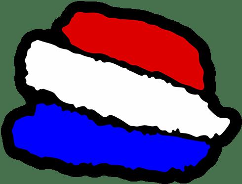 Aufkleber: Stiftstriche Frankreich