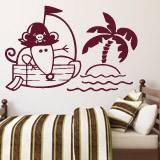 Kinderzimmer Wandtattoo: Piraten 1 3