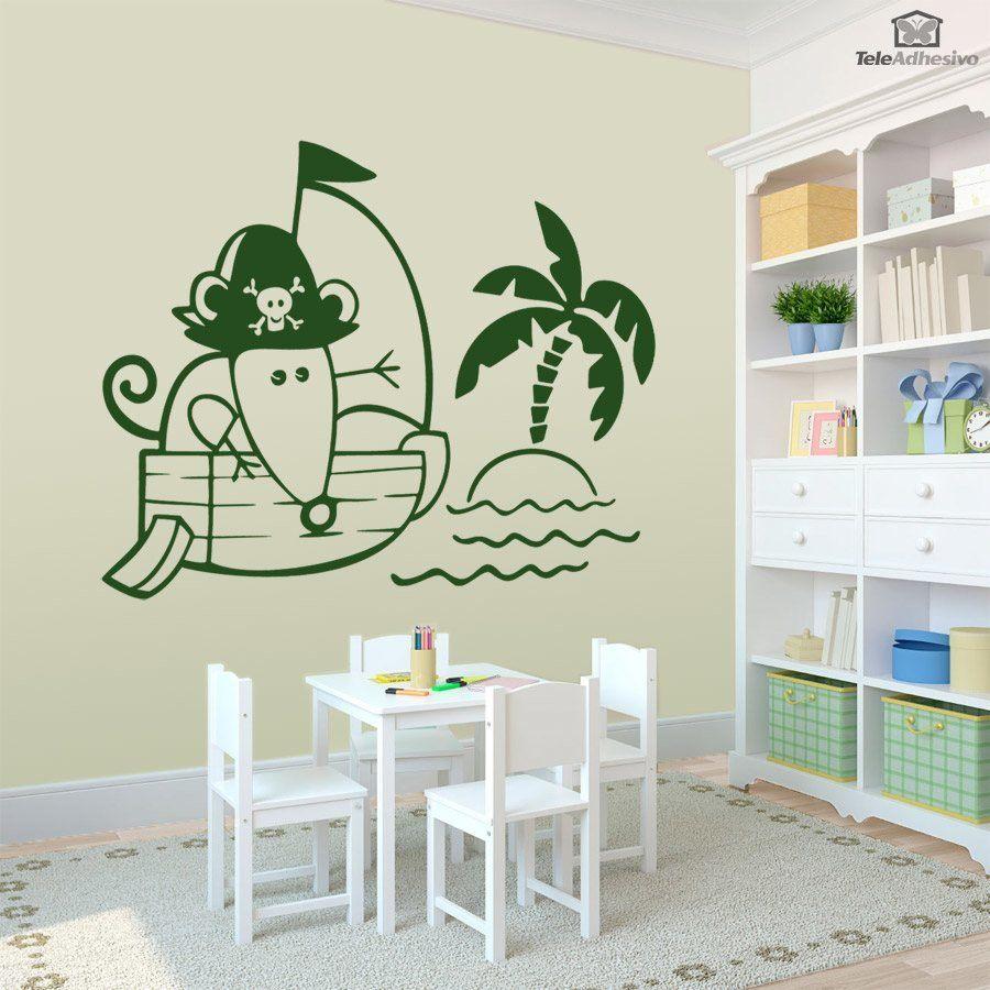 Kinderzimmer Wandtattoo: Piraten 1