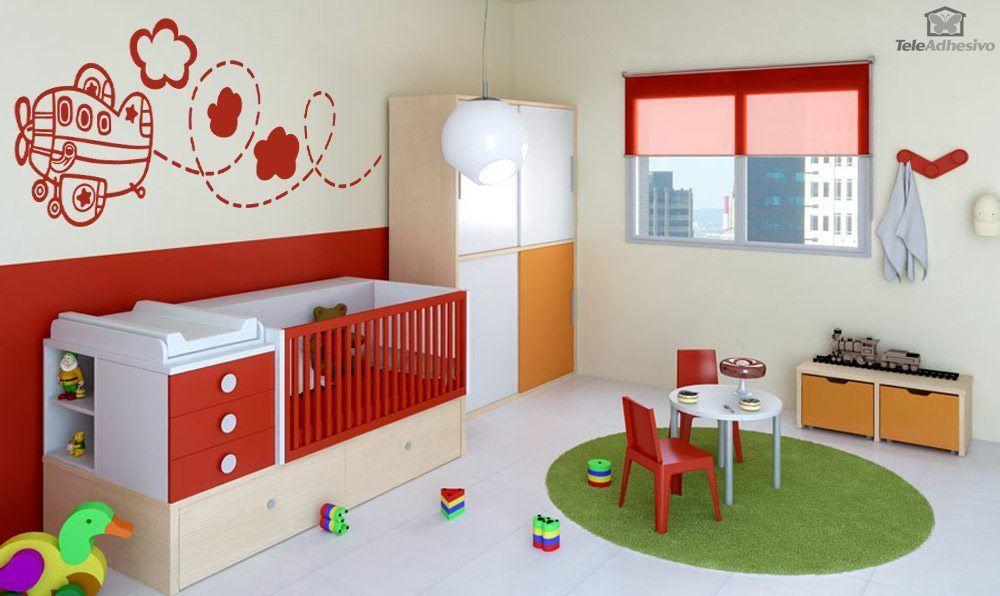 kinderzimmer deko flugzeug ~ ideen für die innenarchitektur ihres ... - Kinderzimmer Flugzeug