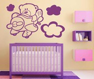 Kinderzimmer Wandtattoo: Aviator 6