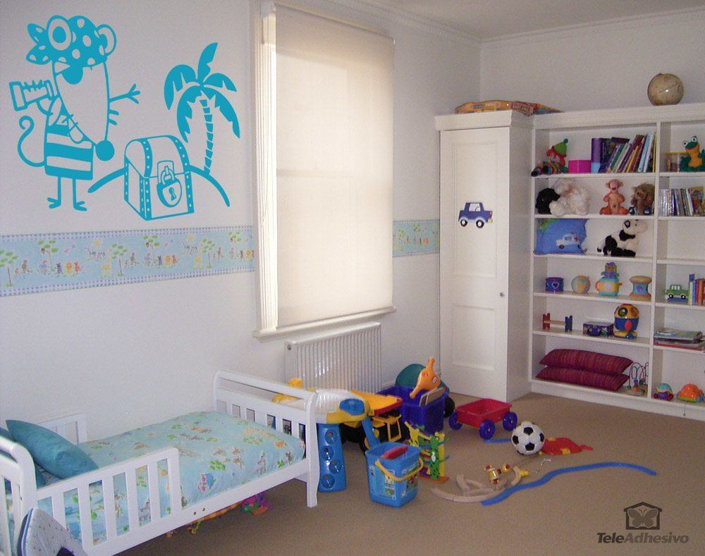 Kinderzimmer Wandtattoo: Pirata 2