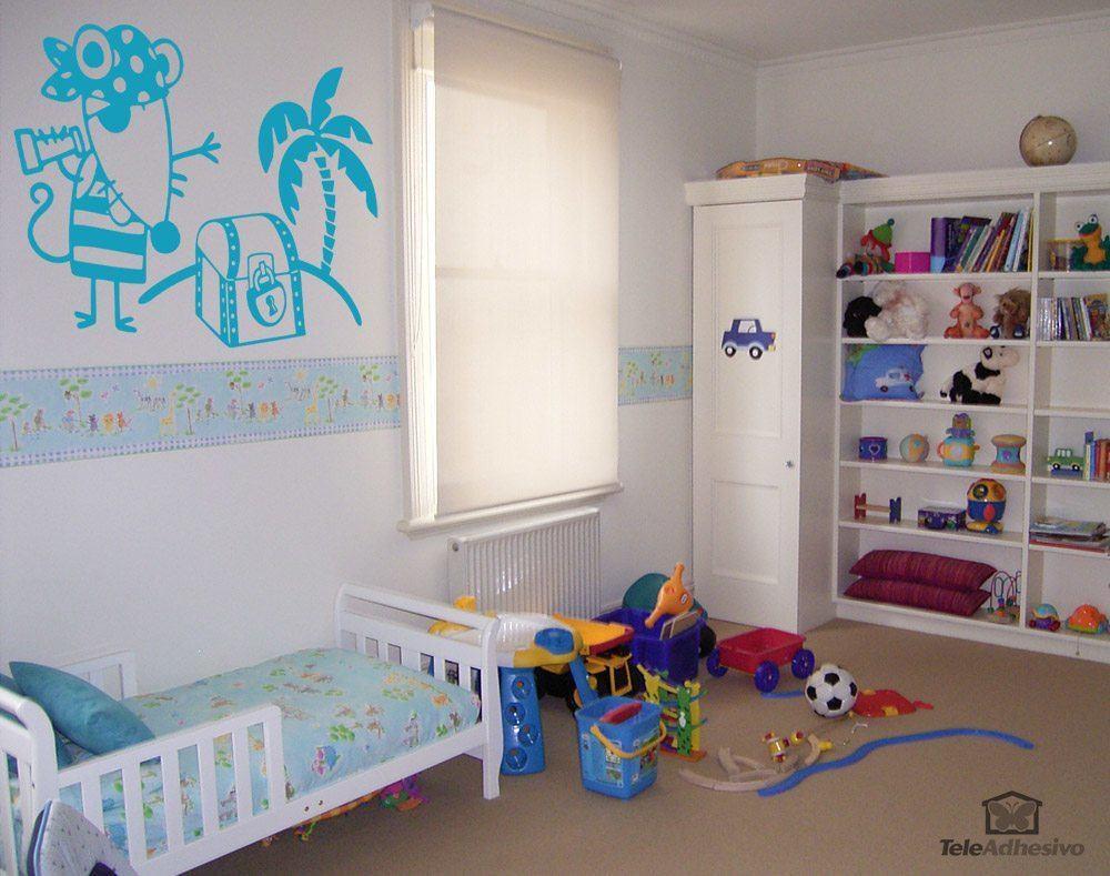 Kinderzimmer Wandtattoo: Pirata 2