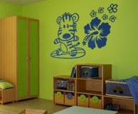Kinderzimmer Wandtattoo: Surfero 9