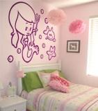 Kinderzimmer Wandtattoo: Sirenita 5