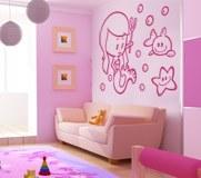 Kinderzimmer Wandtattoo: Sirenita 7