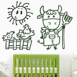 Kinderzimmer Wandtattoo: Granjero 3