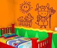 Kinderzimmer Wandtattoo: Granjero 4