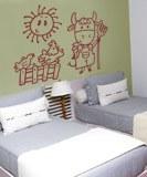 Kinderzimmer Wandtattoo: Granjero 6