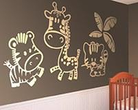 Kinderzimmer Wandtattoo: Zoo 6
