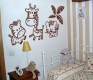 Kinderzimmer Wandtattoo: Zoo 7