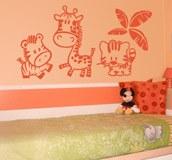 Kinderzimmer Wandtattoo: Zoo 8