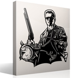 Wandtattoos: Terminator 3
