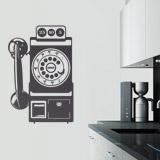 Wandtattoos: Telefonzelle Vintage 2