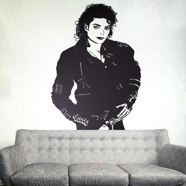 Michael Jackson Aufkleber