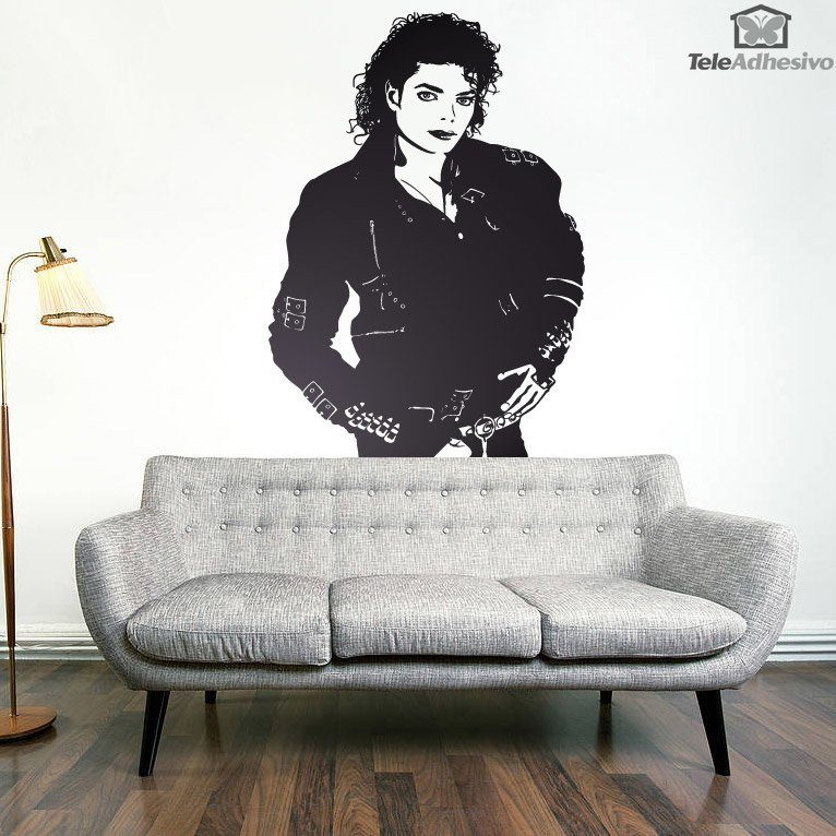 Wandtattoos: Michael Jackson Bad
